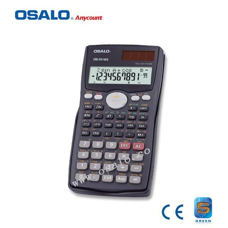 OSALO 991MS Scientific Calculator Solar Dual Power 401 Function Calculadora Cientifica Student Calculated Calculator As Gift