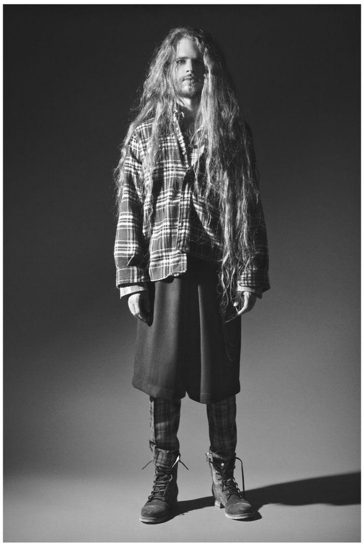 Ramiro del rio bacter alexis embrace grunge fashions for remix magazine