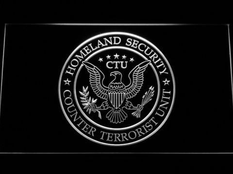 24 Counter Terrorist Unit LED Neon Sign www.shacksign.com
