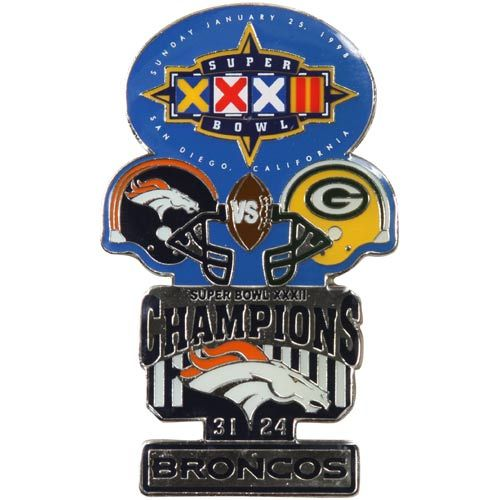 Denver Broncos Super Bowl XXXII Collectors Pin - http://buypackersgear.com/2012/12/07/denver-broncos-super-bowl-xxxii-collectors-pin/ http://buypackersgear.com/wp-content/uploads/2012/12/denver-broncos-super-bowl-xxxii-collectors-pin-89098.jpg