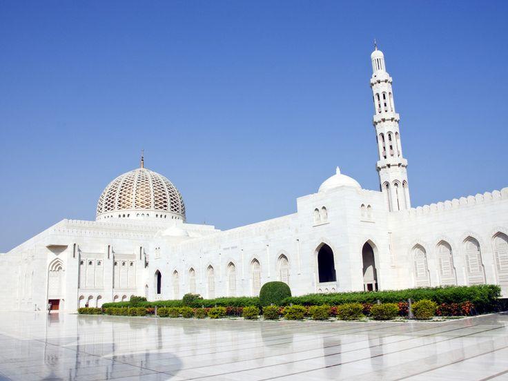 La Grande Moschea di Muscat. Foto di Andrea Baschieri