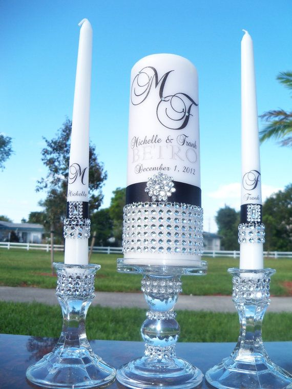 Very elegant looking Unity Candles