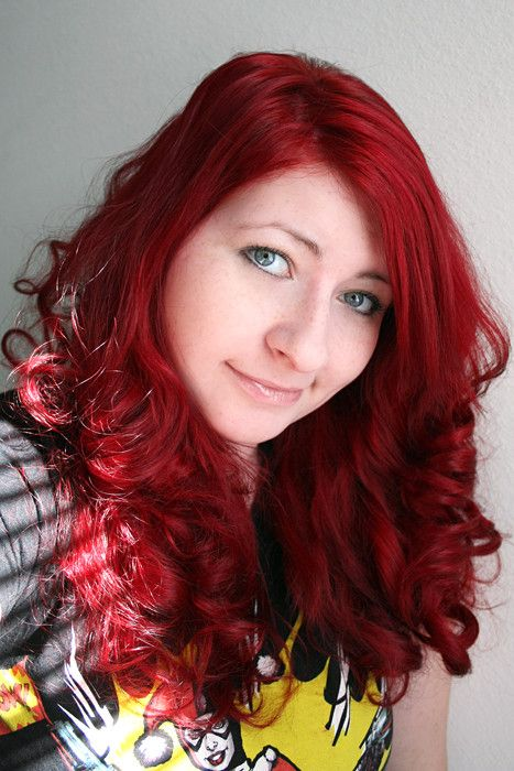 Blood Red Hair Color Pictures