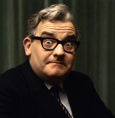 Ronnie Barker. Porridge 'Born Free... 'till somebody caught me...' , Open All Hours 'Sausage Roll?' 'I shouldn't at all be surprised...' and the Two Ronnies 'Latest on the bullion robbery: At Wansforth Police Station, a man who's as deaf as a post, and doesn't speak English, with a terrible stutter, bad breath and squeaky shoes, is not helping the police with their inquiries one little bit...'