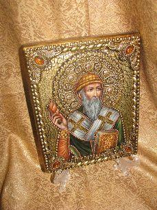 Икона, Святитель Спиридон Тримифунтский - Иконы, Именные <- Иконы - Каталог | Универсальный интернет-магазин подарков и сувениров