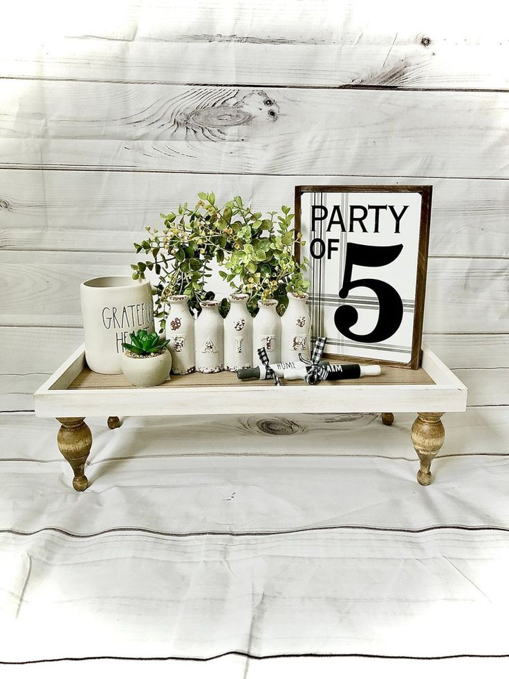 Best Decorative White Wood Farmhouse Riser Rustic Pedestal 400 x 300