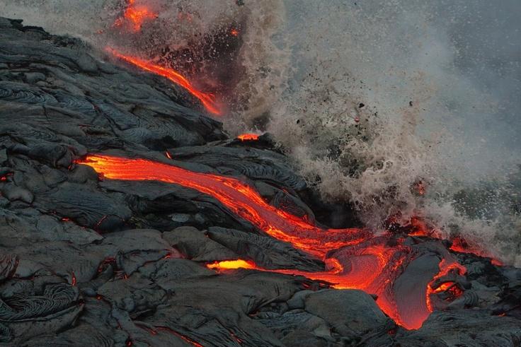 Lava stream, Hawaii