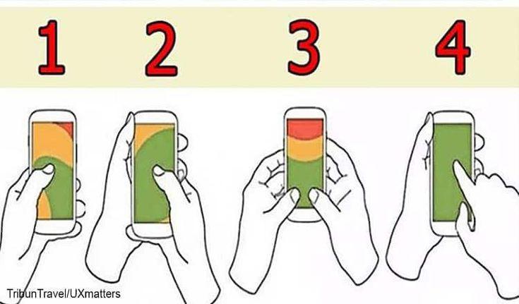 Как вы держите свой телефон - такой у вас и характер. Какой номер - это про вас?