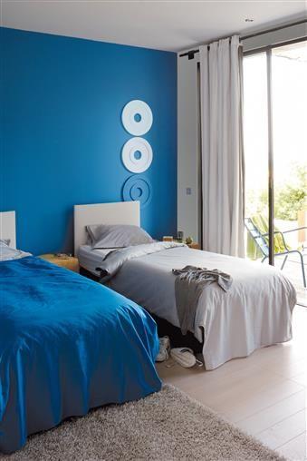 Deco et couleur de peinture tendance pour une chambre d'ado , La couleur , La couleur , Couleurs , Zolpan, Intensément couleurs