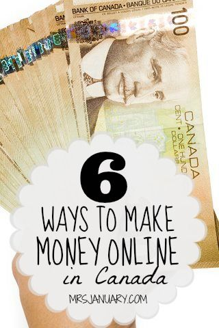 how can i make easy money online 6 ways to make money online in canada via mrsjanuary com 4952