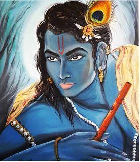 Krishna-Kanhaiya-Kanha Photos: Awesome Painting of Lord Krishna