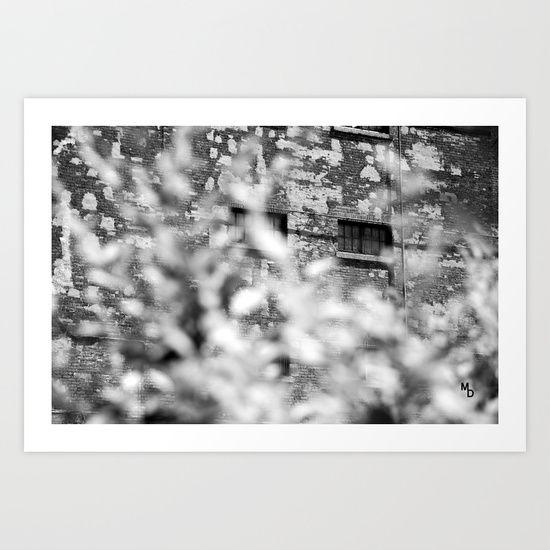 Solitary observation Art Print by Marie Deschene - $15.00