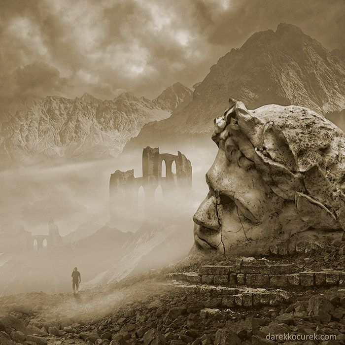"""""""The ancient's way""""  Inspired by Steve Roach music."""