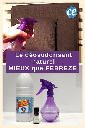 Le Désodorisant Naturel à 0.50 € Encore MIEUX QUE FEBREZE !