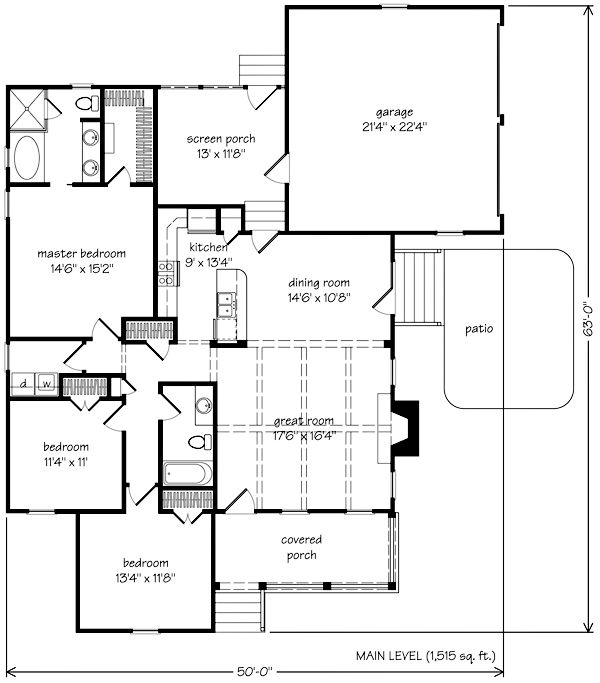 22 best tucker bayou images on pinterest farm house for Bayou cottage house plan