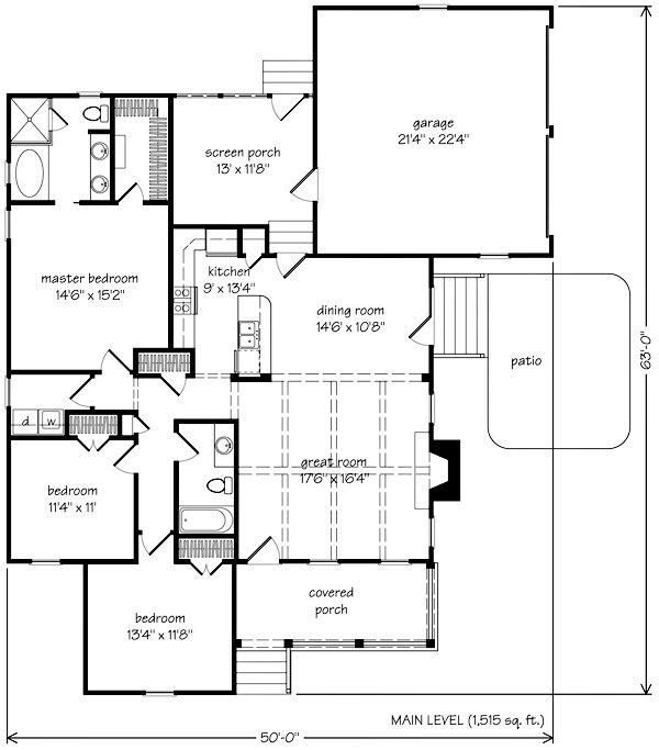 Pin by kristina heintz miller on house designs pinterest for Cottage construction plans