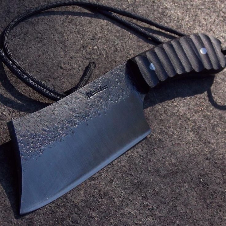 Good ole pocket cleaver by Charlie Edmondson #bladesmith #forged #knifeporn #knives #bladesmith #knives #badass