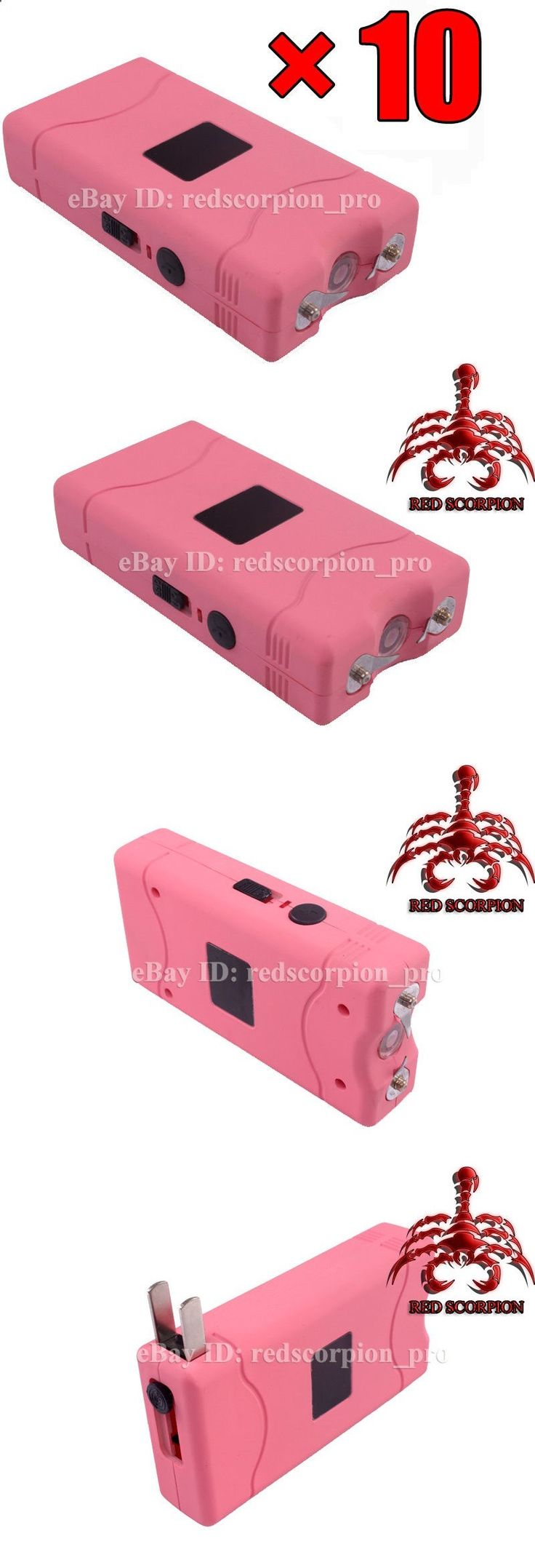 Other Consumer Electronic Lots: (10) Red Scorpion Mini Stun Gun 800-70 Million Volts Pink For Lady Wholesale Lot BUY IT NOW ONLY: $44.99