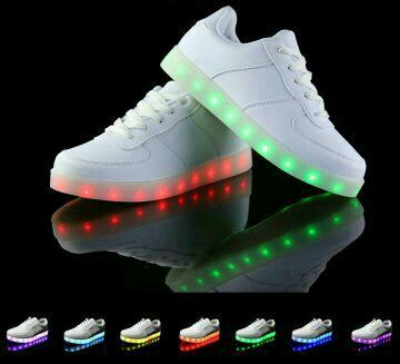 Zapatillas con luces Led.