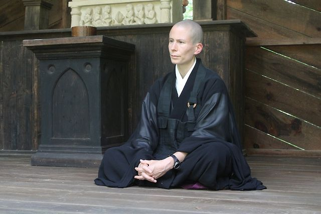 """A #samurai who was known for his #nobility and #honesty, went to visit a #Zen monk to ask him for his #advice.  When the #monk had finished his prayers, the #Samurai asked, """"Why do I #feel so inferior? I have faced 3death many times, have #defended those who are #weak. #Nevertheless, upon seeing you meditating, I felt that my #life had absolutely no importance whatsoever."""".........."""