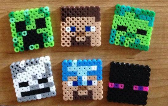 Minecraft Cupcake Toppers 12 pack by PixelizedCreations on Etsy