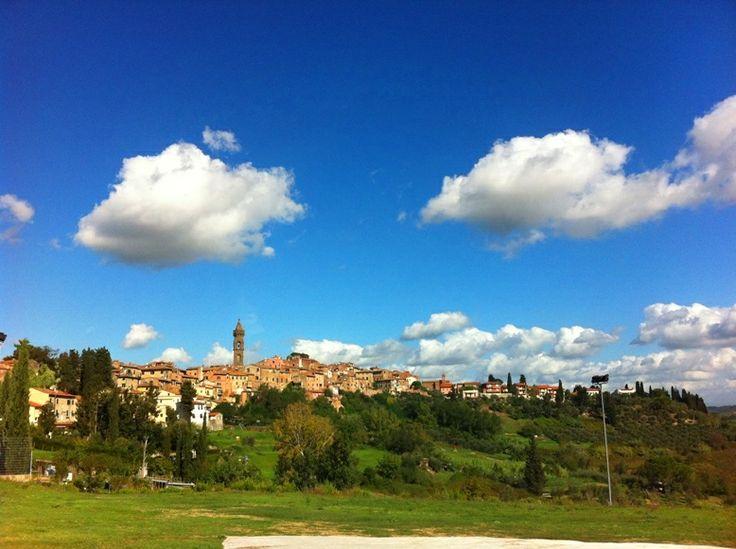 Skyline of Peccioli  http://www.valderatuscany.com/peccioli/ #valdera #tuscany #pisa