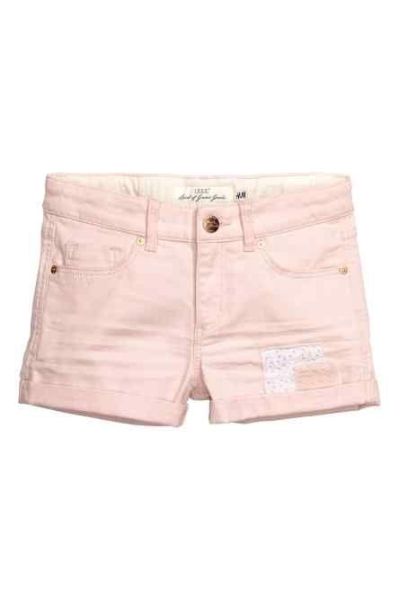 Pantaloni scurți din twill