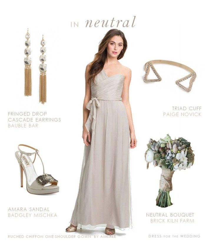 Best 25 neutral wedding guest dresses ideas on pinterest for Beige dress for wedding guest