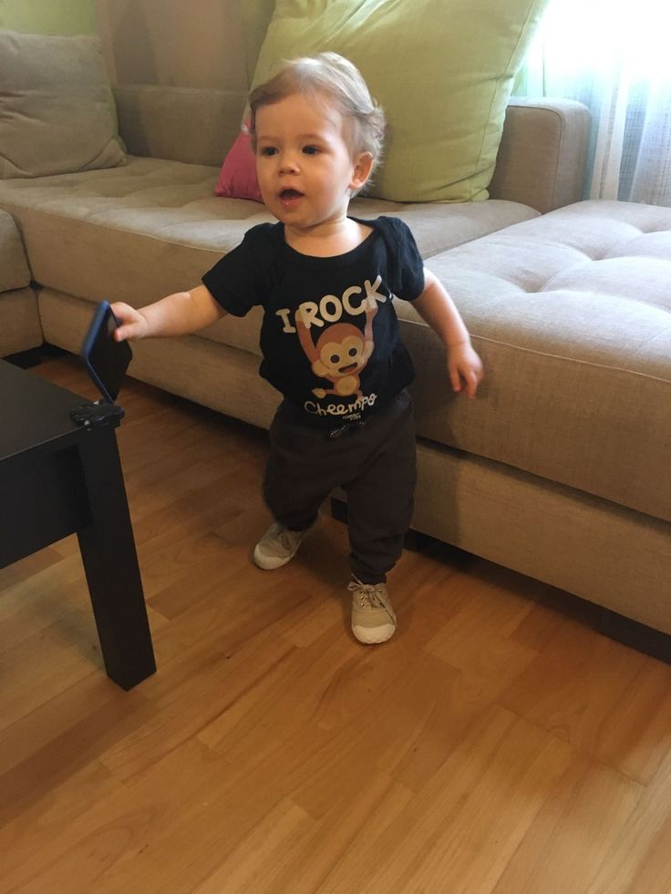 "Thanks a lot Claudia Pereira for sending us this pic of your #littlemonkey with the Cheempo Infant Body Suit ""I Rock"" you bought. Enjoy it!   Buying Cheempo Products You're Helping to Protect Chimpanzees.        #tshirts #tshirtshop #birthdaygifts #infant #infantclothes #kidsclothes #kidsfashion #children #childrenswear #childrensboutique #childrensclothing #childrensfashion #coolkidsclothes #cheempo #nimakids #janegoodall #nature #endangeredspecies #chimpanzees #anim"