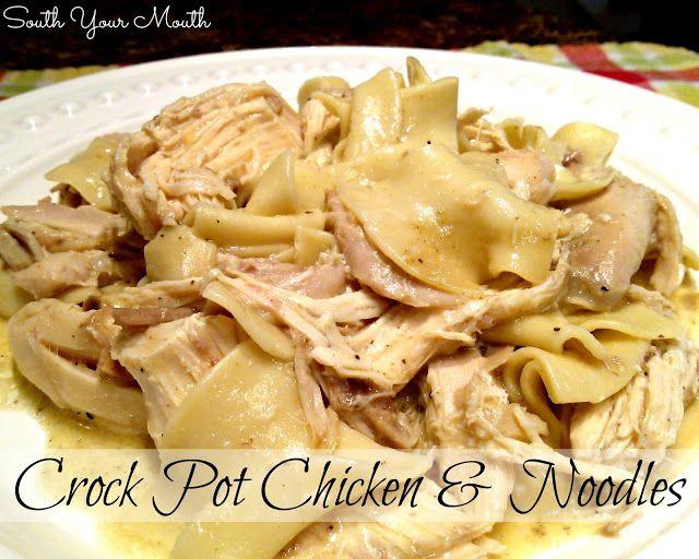 Chicken and Noodles {Crock Pot}