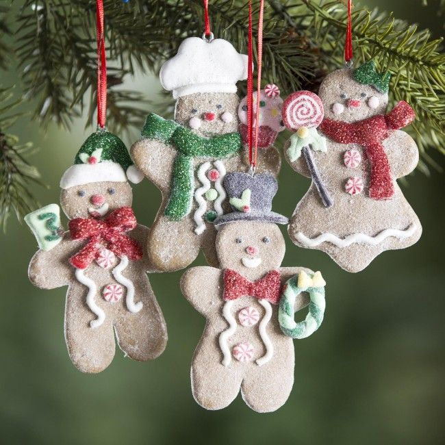 Decorate your tree this season with our delicious Gingerbread Ornaments.