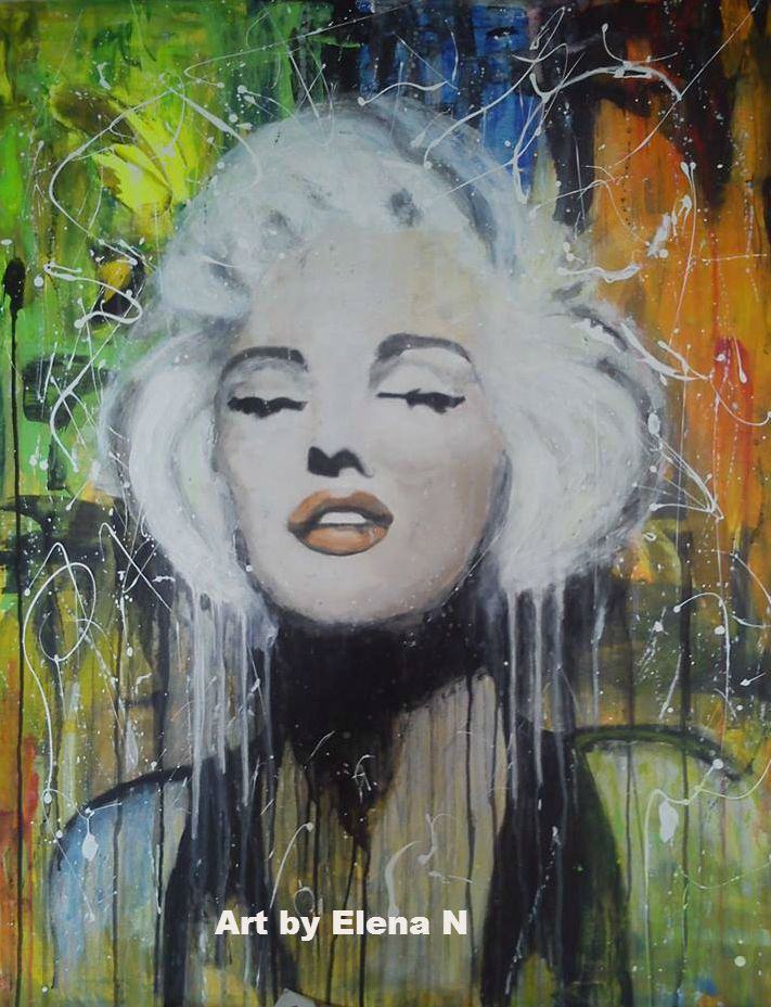 Acrylic painting 100*80. Art by Elena N