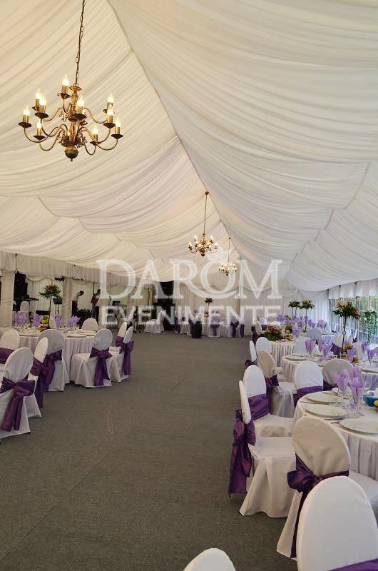 Eveniment la cort - Romania. | Wedding tents decor | beautiful wedding tent