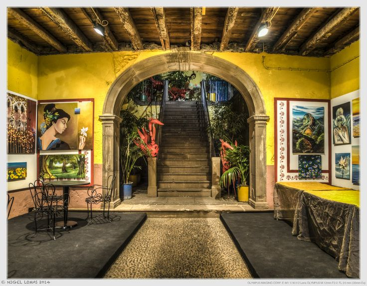 The Artists Courtyard by Nigel Lomas on 500px
