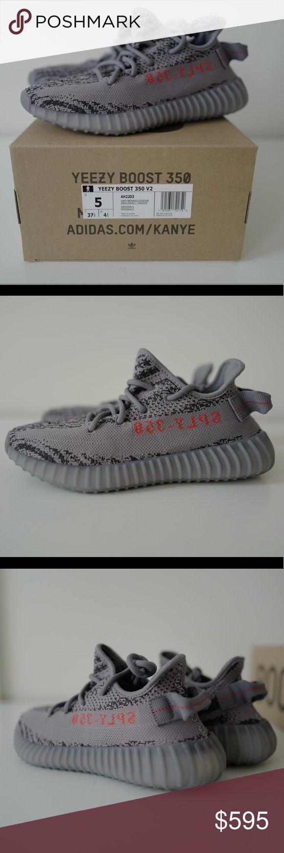 NWT Adidas Yeezy Boost Beluga 2.0 Adidas Yeezy Boost Beluga 2.0 Release Date: 11/25/2017 100% Authentic. Size 5 in Mens.  Usually a 6-6.5 and it fits me just right.   More photos can be provided if necessary. Willing to sell at a lower price through PayPal ($545). Let me know if you have any questions! adidas Shoes Sneakers