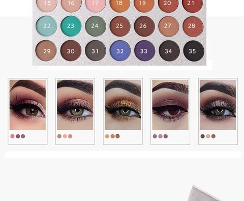 dfb5a7e9a107 Beauty Glazed (TM) Impressed You - Eyeshadow Palette - 35 Colors ...