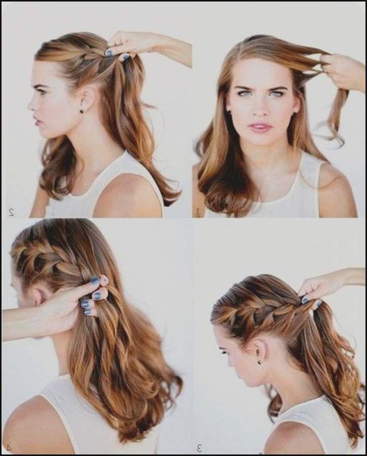 Einfache Frisuren Schulterlange Haare Anleitung Drawing Apem