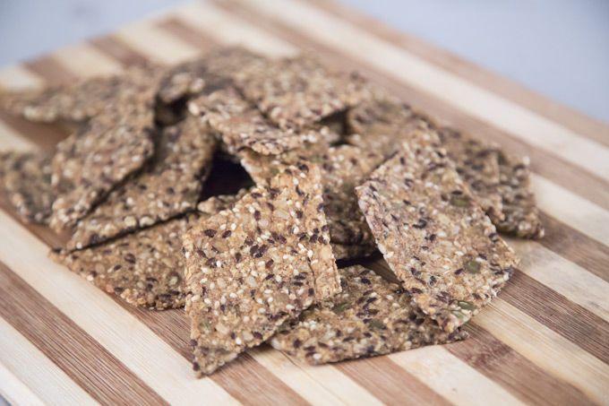 Guldbageren - Knækbrød med kerner