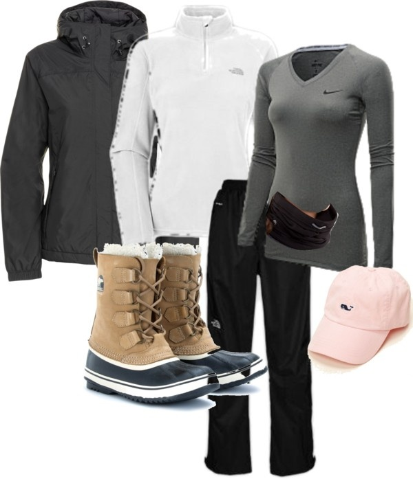 """""""Day 2 Up North Cross Country Skiing"""" by gardekm on Polyvore"""