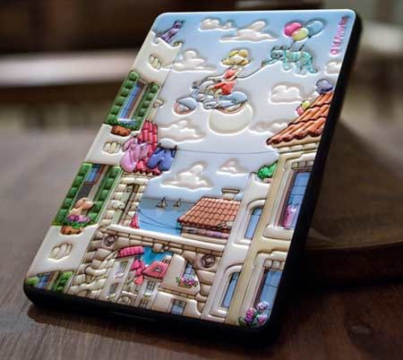 The id America Cushi line of adhesive foam pad covers seems ready to expand its capabilities and the latest gadget it has picked to dress up is the Amazon Kindle Fire.
