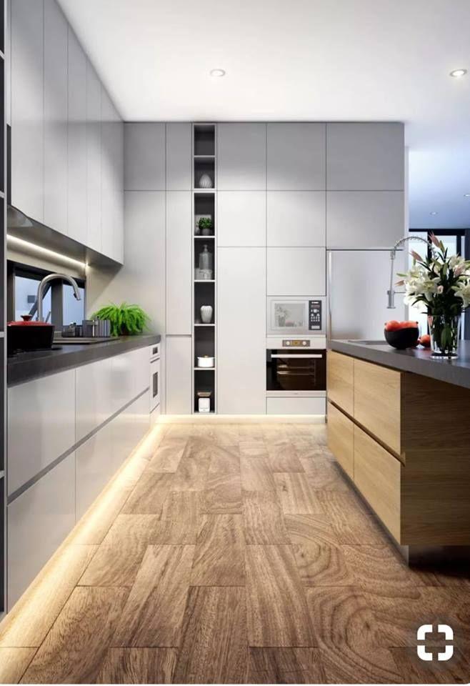 Pin Di Katrina Luik Su Indoor Design Progettazione Di Una Cucina Moderna Pavimento Cucina Cucina Moderna