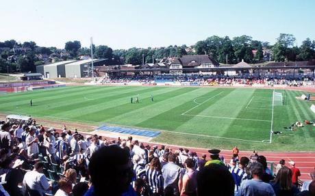 Withdean Stadium - Brighton & Hove Albion
