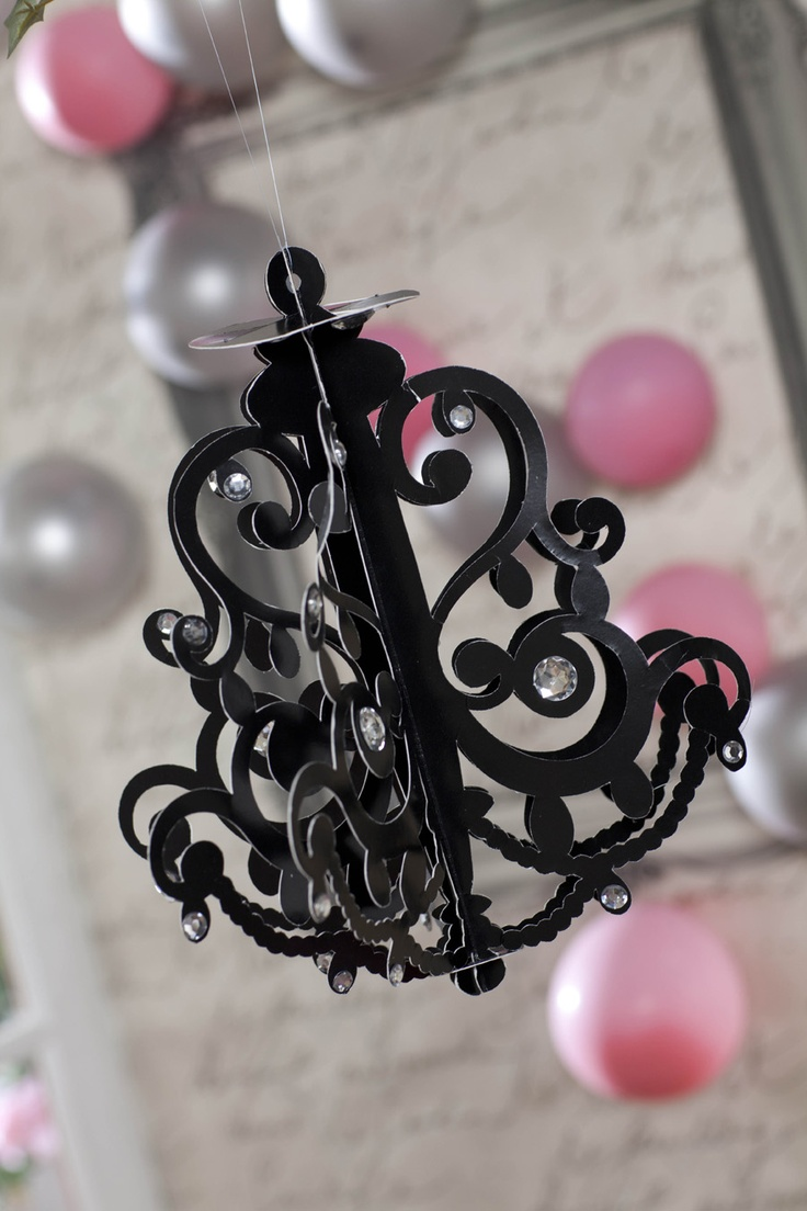35 best Black and White Princess Damask Party Ideas images on