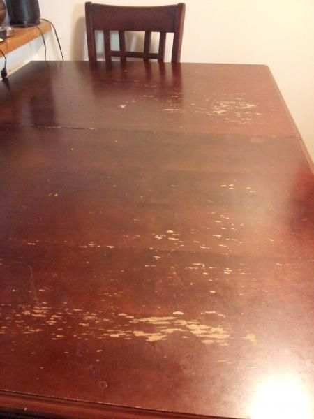 How to Refinish Wood Table of Naturally - http://articleplusx.com/2015/05/how-to-refinish-wood-table-of-naturally/ : #KitchenFurniture Many people have found old, battered wooden tables. Everyone has problems such as scratches and chipped paint. Professional Finishing to refinish wood table is a solution, but can be expensive. Complete the table by itself is relatively inexpensive and simple. Requires few supplies and little...