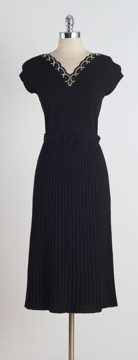 Two Harbors . vintage 1950s dress . vintage by millstreetvintage
