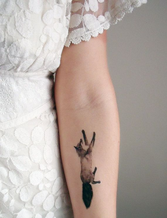 Temporary Tattoos Fox and Rabbit  Includes 2 di BurrowingHome, $10.00