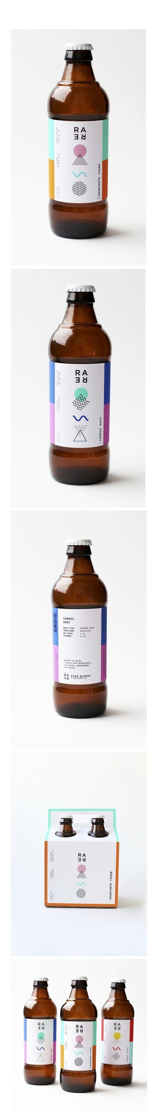 Rare Barrel Beer Packaging (Designer Unknown) | Fivestar Branding Agency – Design and Branding Agency & Curated Inspiration Gallery