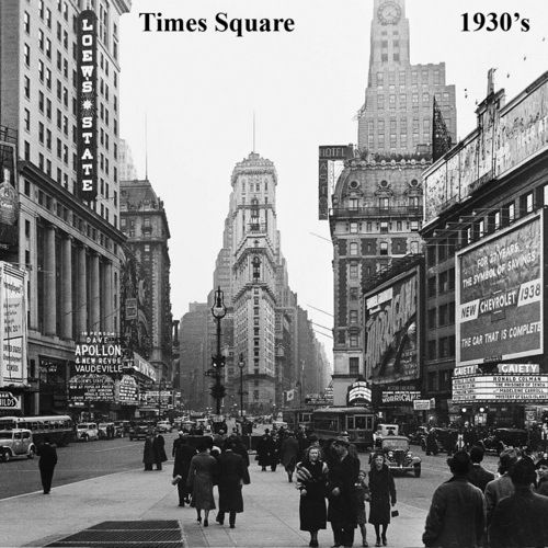 10 Best Times Square Through The Ages Images On Pinterest