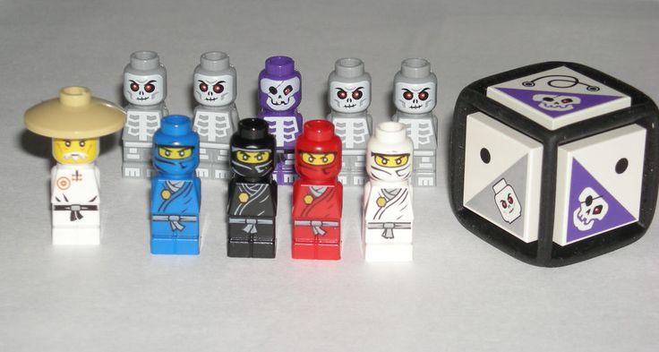 Lego Grey Skeleton jestro Skeleton Minifigure Lego Figure Figurine Skeleton NEW
