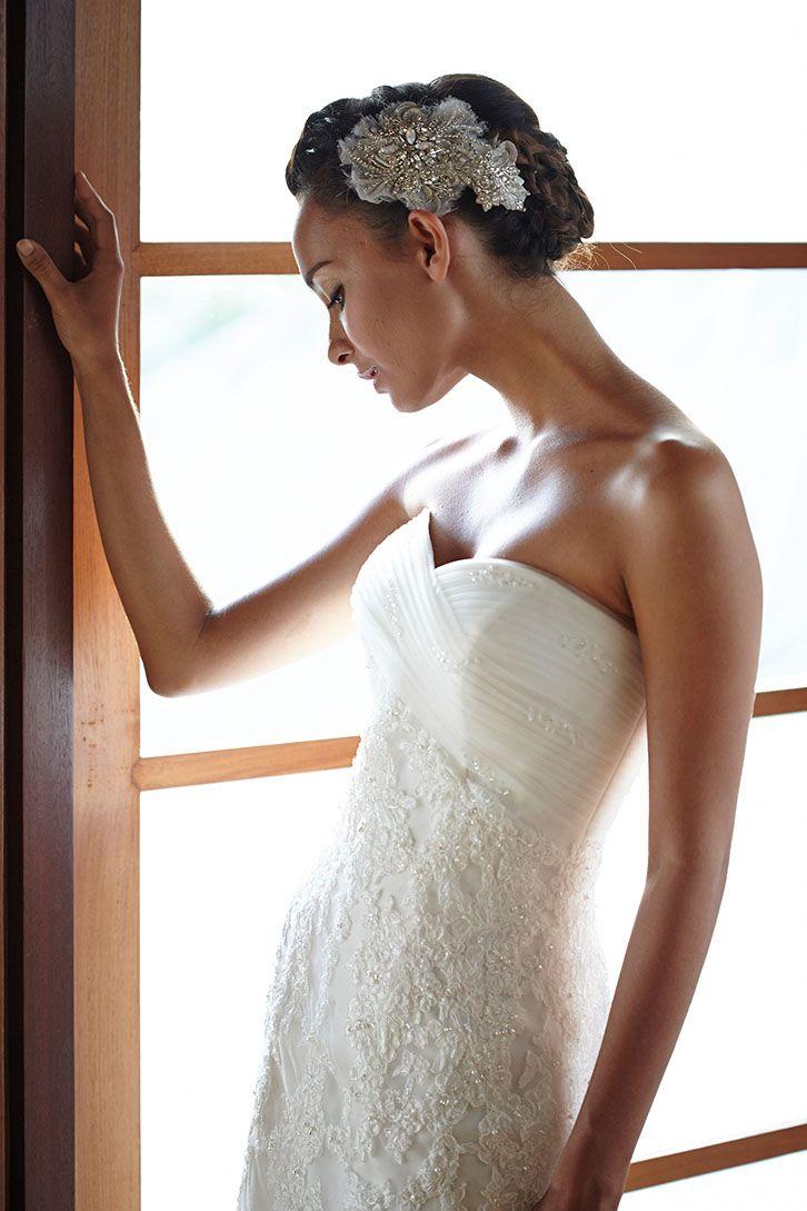 Perfect gown for perfect bride by Tirtha Bridal Uluwatu Bali